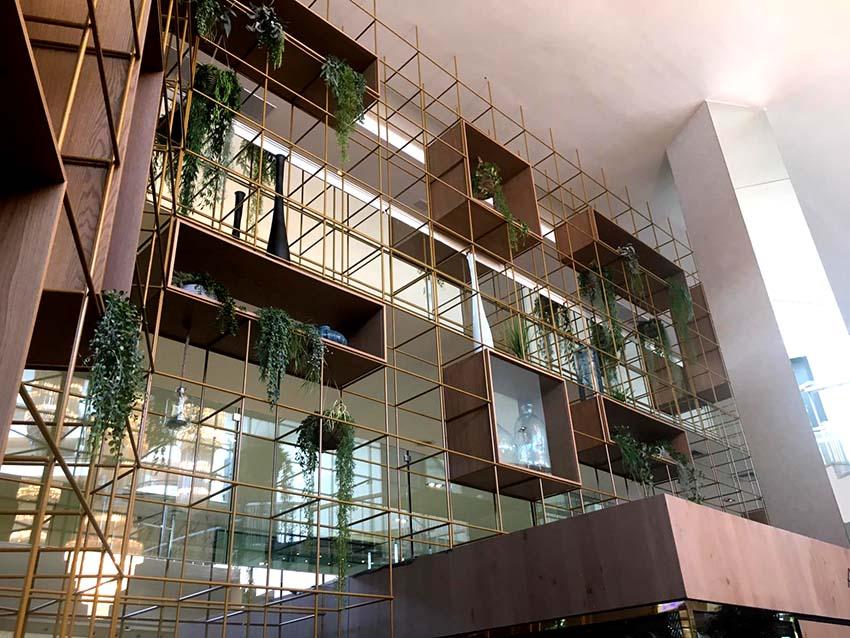 ajardinamiento interior hotel 4