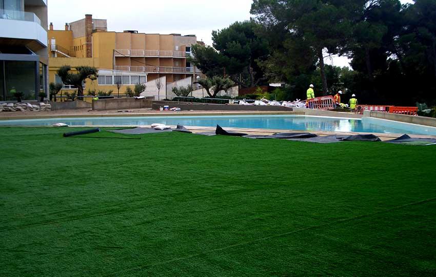Obra ajardinamiento Playa de Palma 5